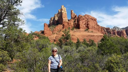 Sedona, AZ with mom, aka Grandma at Our Family Reviews