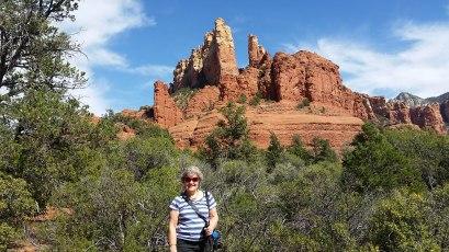 Sedona, AZ with mom, aka Grandma at Our Family Reviews