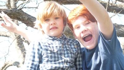My boys are so cute