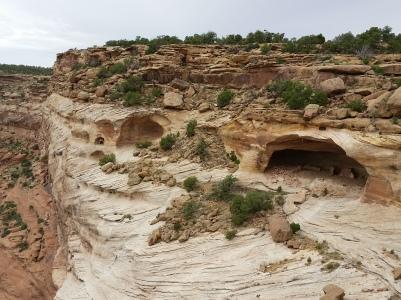 Ruins at Canyon De Chelly