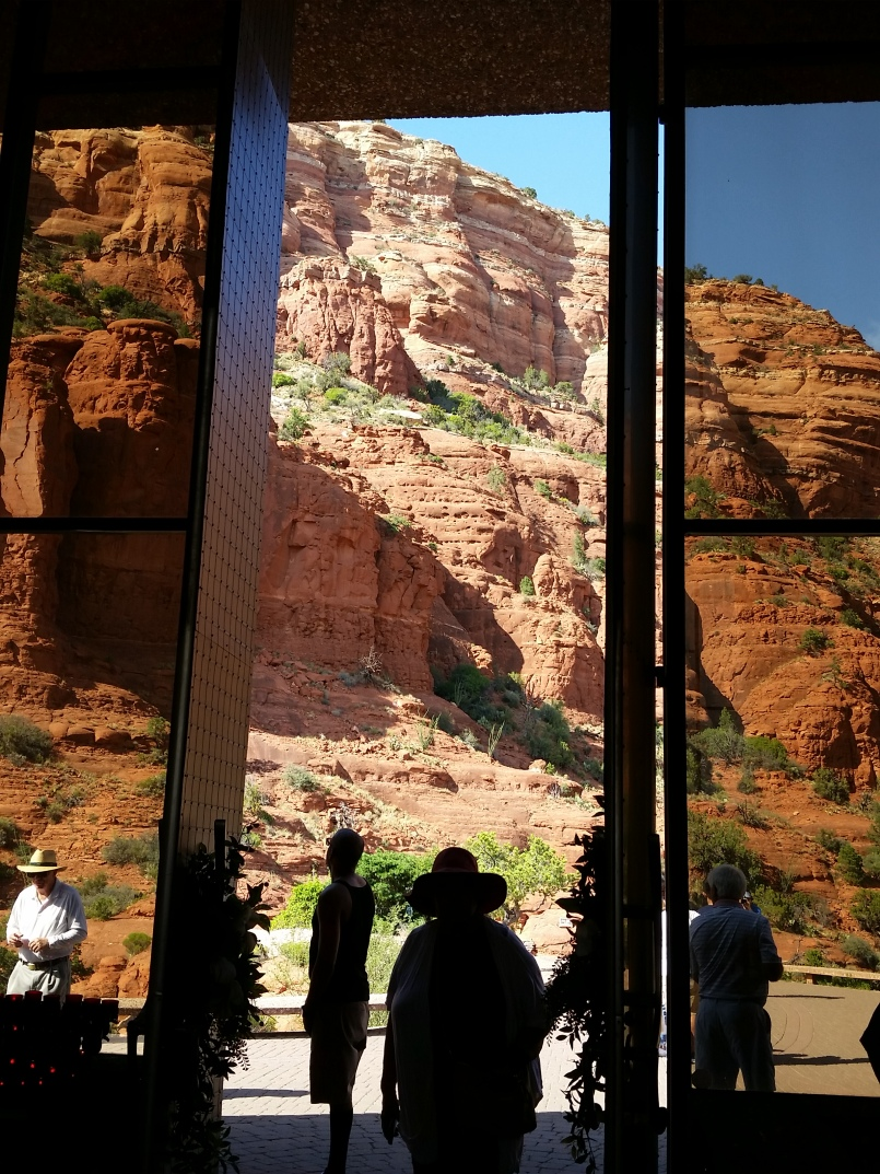 Chapel in the Rock in Sedona AZ