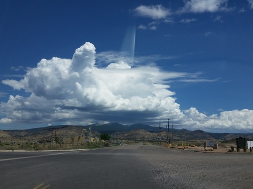 New-Mexico-USA- beautiful sky scenery