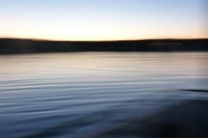 A creative photo of Pelican Lake