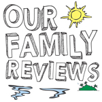 Our Family Reviews - Light Badge
