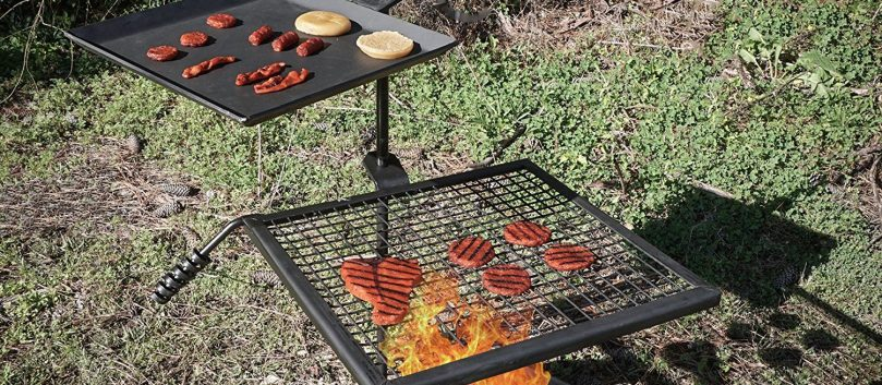 titan-campfire-adjustable-swivel-grill