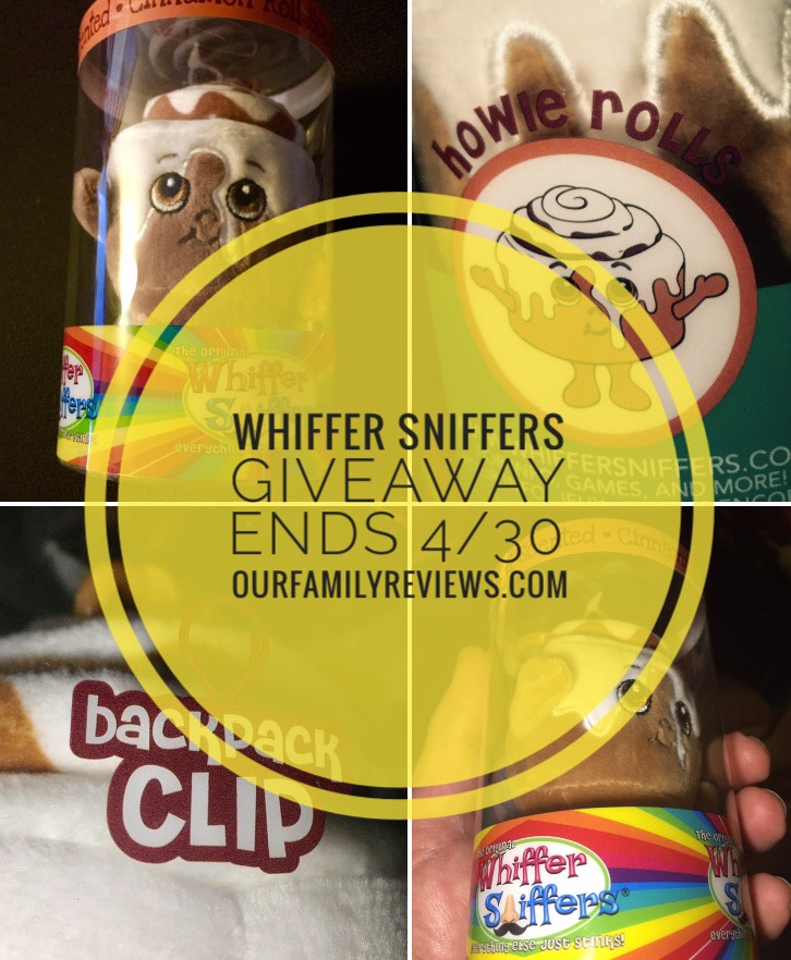 "WIN A ""Howie Rolls"" Whiffer Sniffers (Series 4)"