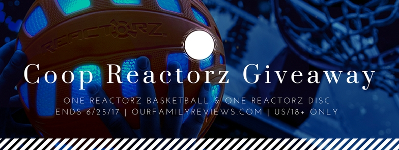 We're giving away a COOP Sports Reactorz Basketball and Reactorz Disc