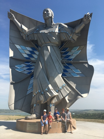 Lady Dignity of Earth and Sky in Chamberlain, South Dakota