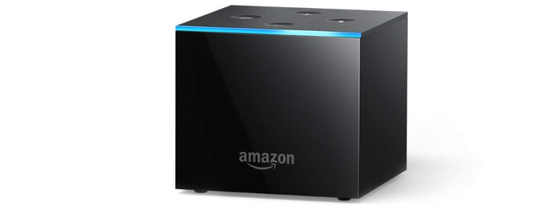 Fire TV Cube - Alexa enabled 4K Ultra HD Streaming Media Player