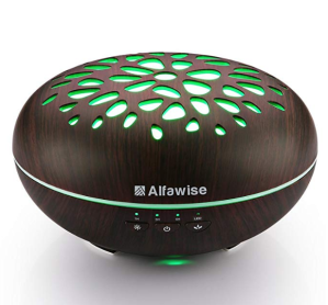 Alexa enabled oil diffusor