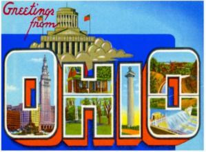 vintage ohio postcard by Trend Shop Gifts on Zazzle.com