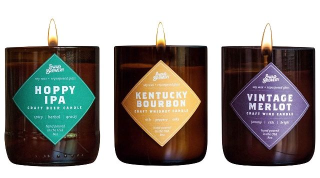 This awesome three-pack of manly scented candles from a local brewery will provide a bourbon smell and more