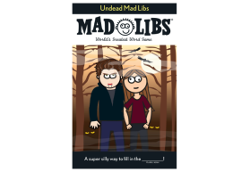 Undead Mad Libs paperback book from Amazon.com