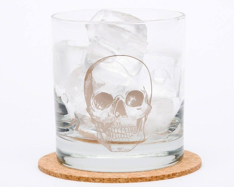 Skull Rocks Glass