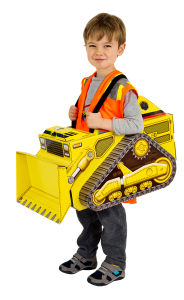 Suitables Halloween Costume - Bulldozer