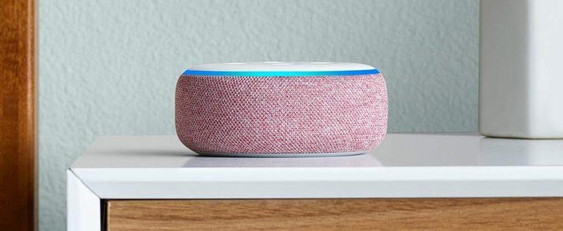 Amazon Alexa Echo Dot 3rd Gen in Plum