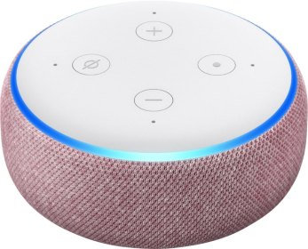 Amazon Echo Dot 3rd Gen in plum