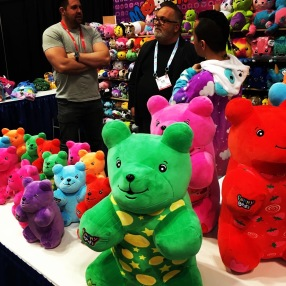 MMG Brands, makers of Moosh-Moosh Plushies and other products, announced at Toy Fair that their company now has the Gummy Bear licensing.