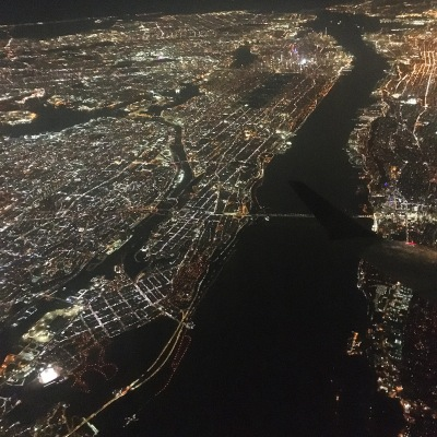 Heading home, flying from LGA in Queens, New York to Madison, Wisconsin