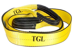 Tree saver, winch strap, tow strap