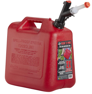 5 gallon gas can for vehicle with pour spout